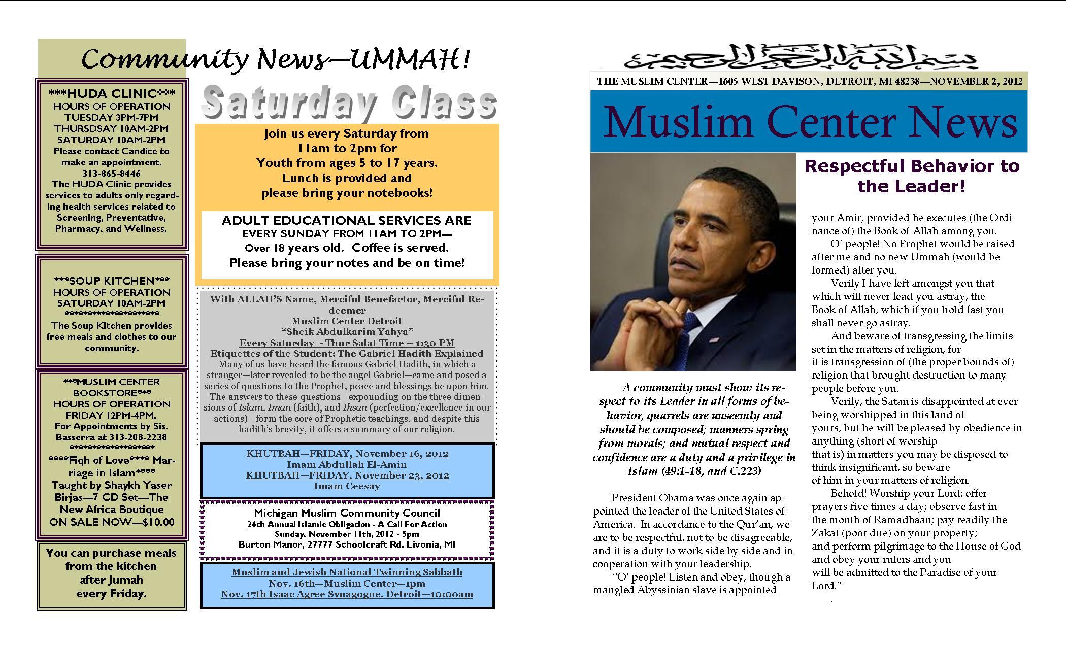 110912 Publication – Muslim Center