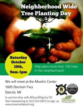 DREAM Tree Planting Day